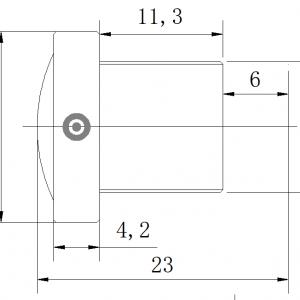 Wide angle lens, M12| S-mount lens, cctv lens, CCL12031MPF is a 3.1mm for 1/2″ sensors Aptina MT9M001