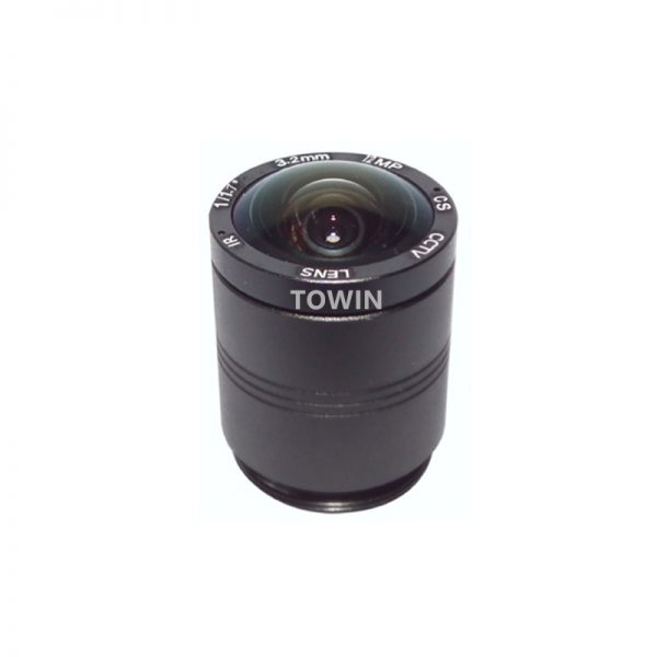 CCL123030MPCS CCTV CS mount lens 3.2mm wide angle IR corrected lens 12MP IMX226 F2.0 day night fixed Iris