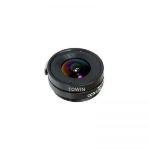 CCL13021MPCS CCTV CS mount lens low light F1.2 2.1mm lens wide angle IR corrected day night fixed Iris