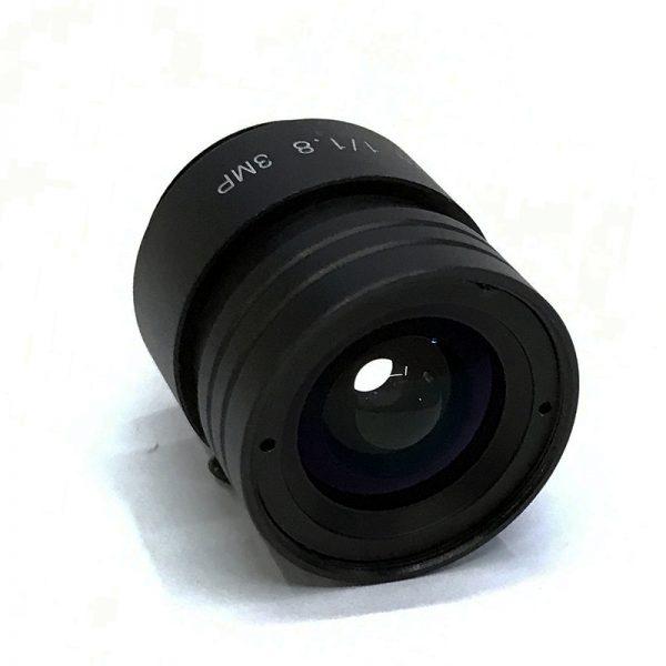 CS05511812F3 CCTV lens 5.5mm low light F1.2 IR correct CS mount lens fixed Iris day night surveillance-2